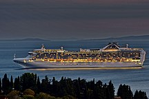 -Grand Princess-Grand Princess (ship, 1998) IMO 9104005, in Split, 2011-10-13