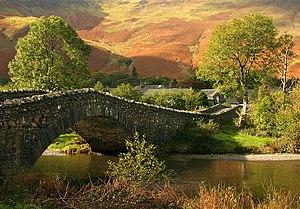 River Derwent, Cumbria - Derwent at Grange Bridge