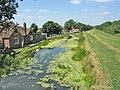 Grantham Canal at Woolsthorpe - geograph.org.uk - 27673.jpg