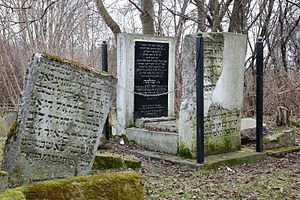 Solomon Luria - Grave of Solomon Luria (right), Old Jewish Cemetery, Lublin