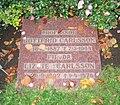 Grave of professor Gottfrid Carlsson lund sweden.jpg