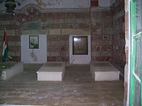 Graves in mountaion temple.jpg