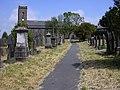 Graveyard St James Haslingden Rossendale - geograph.org.uk - 459440.jpg
