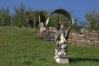 Wayside shrine of Saint John Nepomuk, Straßgang