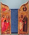 Gregorio di cecco (attr.), quattro santi, annunciazione, 1420 ca., Q273.JPG