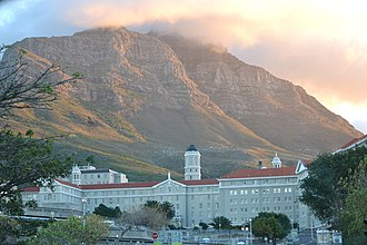 Groote Schuur Hospital - Old Main Building of Groote Schuur Hospital