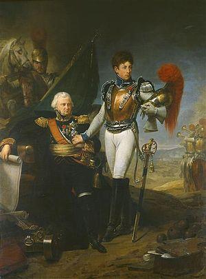 Jean Ambroise Baston de Lariboisière - Image: Gros General Lariboisière and his son