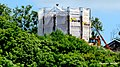 Grudziądz, Polska - widok z okolicy miejscowości Dragacz. Widok odbudowy starej wieży Klimek - panoramio.jpg