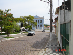 A street in downtown Porto Feliz