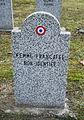 GuentherZ 2013-01-12 0307 Wien11 Zentralfriedhof Gruppe88 Soldatenfriedhof franzoesisch WK2 Femme francaise Non-Identifiee.JPG