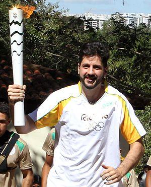 Guilherme Giovannoni - Image: Guilherme Giovannoni Tocha Olímpica Rio 2016
