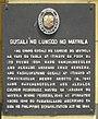 GusaliNgLungsodNgMaynila HistoricalMarker Manila.jpg
