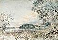 Gustaf Wilhelm Finnberg - Landscape from Louhisaari, Study - A II 1254-32 - Finnish National Gallery.jpg