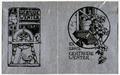 Gustavo Borzaga – Due ex libris per Gertrude Wenter.tiff