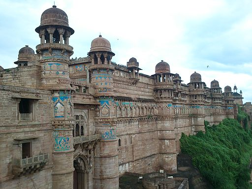 Gwalior fort front side view