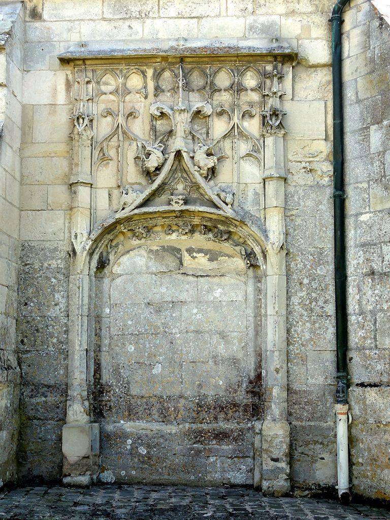 File h rouville 95 glise saint clair ancien portail for Piscine de la chapelle saint luc