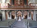 Höxter, Corvey, St. Stephanus und Vitus, Blick vom Altar zum Ausgang.JPG