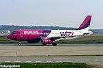 HA-LWJ Airbus A320-232 A320 - WZZ (25452393990).jpg