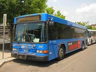 Housatonic Area Regional Transit - Image: HART Gillig 510