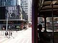 HK 中環 Central 德輔道中 Des Voeux Road tram view shop JUST DO IT July 2019 SSG 05.jpg