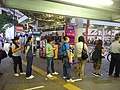 HK 尖沙咀 TST 梳士巴利道 Salisbury Road 天星碼頭公共運輸交匯處 Star Ferry Public Transport Interchange visitors queue KMBus stop October 2016 DSC 002.jpg