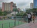 HK CWB HKCL 香港中央圖書館 view terrace visitors 大坑地產 Tai Hang property agent Nov-2013 Moreton Terrace Playground.JPG