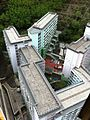 HK Kennedy Town 百年大樓 Centenary Mansion view Sai Wan Estate roof May-2014 008.JPG