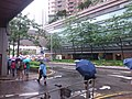 HK TKO 將軍澳站公共運輸交匯處 Tseung Kwan O Station bus terminus rainy July 2019 SSG 02.jpg