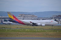 HL7419 - B744 - Asiana Airlines