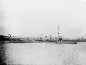 HMS Cleopatra (1915) - Image: HMS Cleopatra (1915)