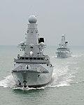 HMS Daring and HMS Dauntless MOD 45151056.jpg