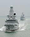 HMS Daring and HMS Dauntless MOD 45151056.jpg