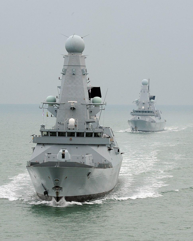 HMS Daring and HMS Dauntless MOD 45151056