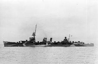 MV Empire Star (1935) - Image: HMS Durban