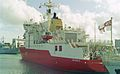 HMS Endurance (A171) Class 1A1 icebreaker 6,100 tons, Royal Navy. (11669436015).jpg