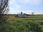 HM Coast Guard Sikorski S-92 at Tresco Heliport.jpg