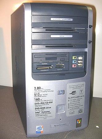 HP Pavilion (computer) - HP Pavilion a367c (2003).