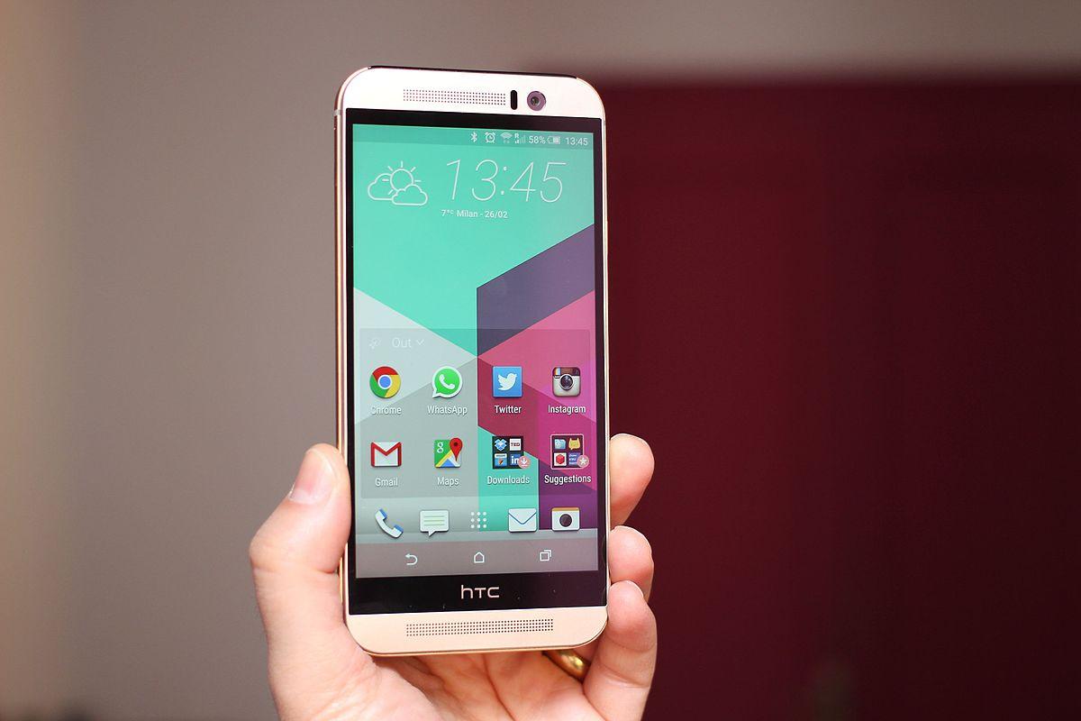 HTC One M9 – Wikipédia, a enciclopédia livre