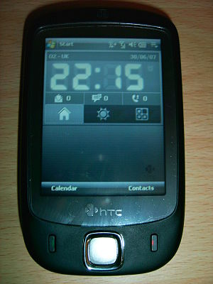 HTC Touch - Image: HTC Touch (1)