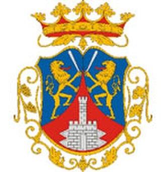 Szigetvár - Image: HUN Szigetvár COA