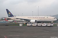 HZ-AKW - B772 - Saudi Arabian Airlines