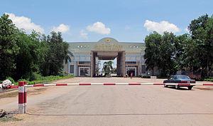 Hà Tiên - Vietnamese border gate next to Hà Tiên