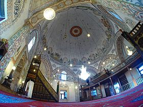Hadum Mosque- from inside.JPG