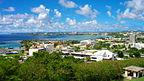 Guam - Hagåtña, Widok z budynku - GCIC na plaż�