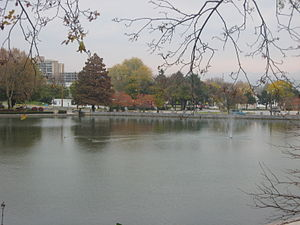 Hagerstown City Park - Image: Hagerstown City Park Lake