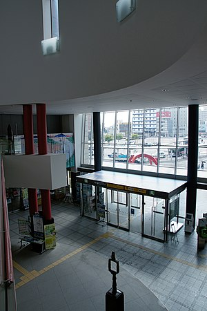 Hakodate Station - Image: Hakodate Station Hokkaido Japan 10n