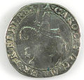 Halfcrown of Charles I - Counterfeit (YORYM-1995.109.36) obverse.jpg