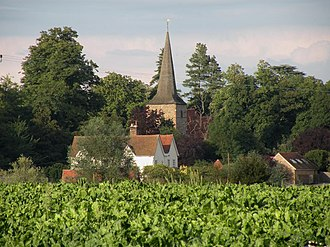 Fairstead, Essex - Image: Hall Farm and Fairstead church geograph.org.uk 1448620