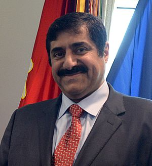 Hamad bin Ali Al Attiyah - Hamad Al Attiyah at the Pentagon, Oct 2015.