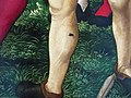 Hans baldung grien, martirio di santo sebastiano coi santi stefano, cristoforo, apollonia, dorotea, 1507, 09.JPG
